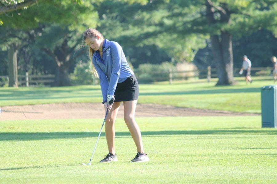 Varsity Girls Golf Invitational at Riverside Golf Course