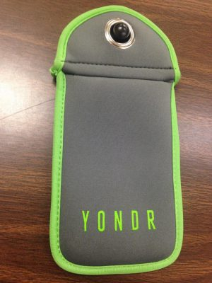 The Yondr pouch being used in classrooms.  Taken by Kenneth Forbeck