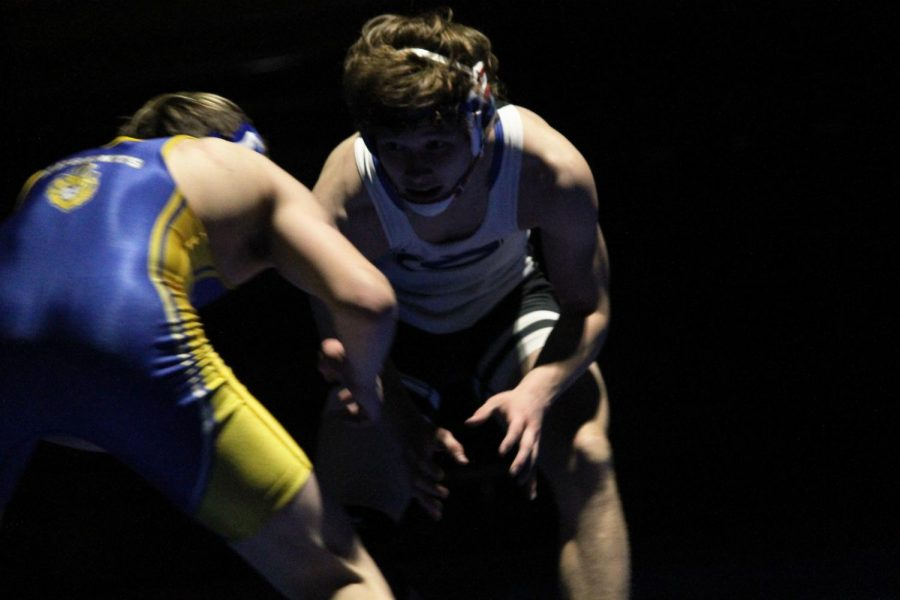 Cougar Wrestling takes down Madison West 80-0