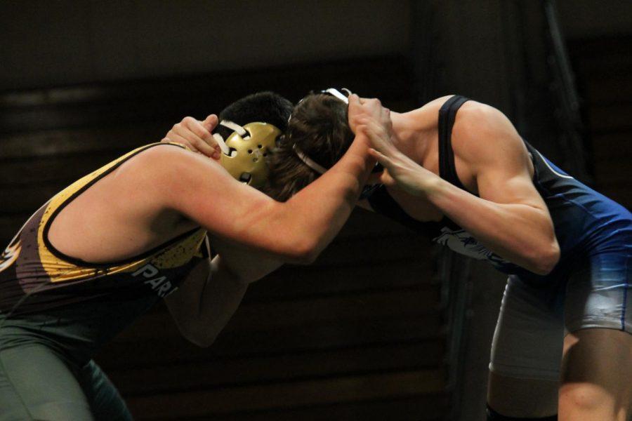 Wrestling dominates Parker 63-12