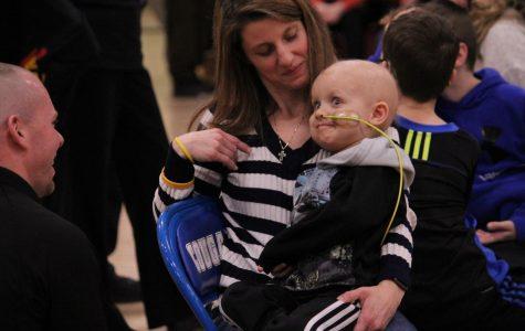 Craig raises $10,000 for Isaac Johnson Foundation