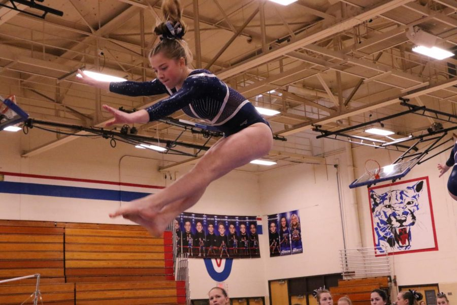 Craig gymnasts place 3rd in Big 8