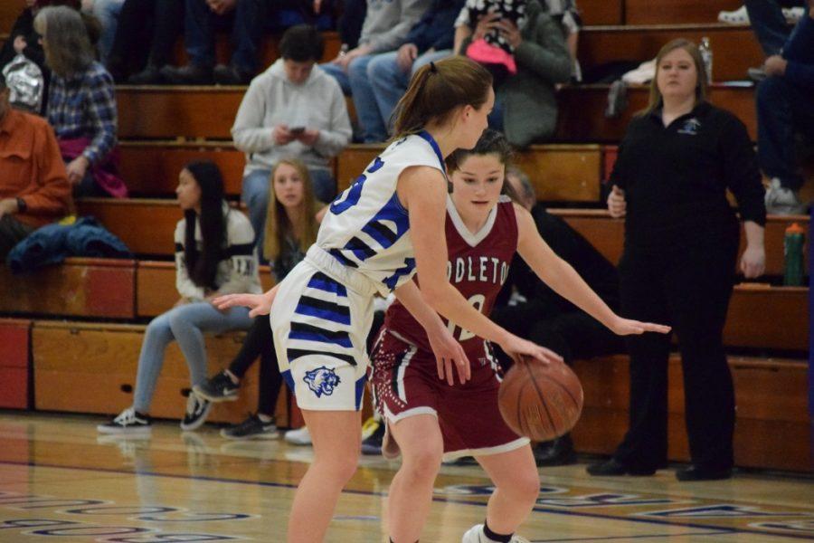 JV Girls Basketball vs Middleton