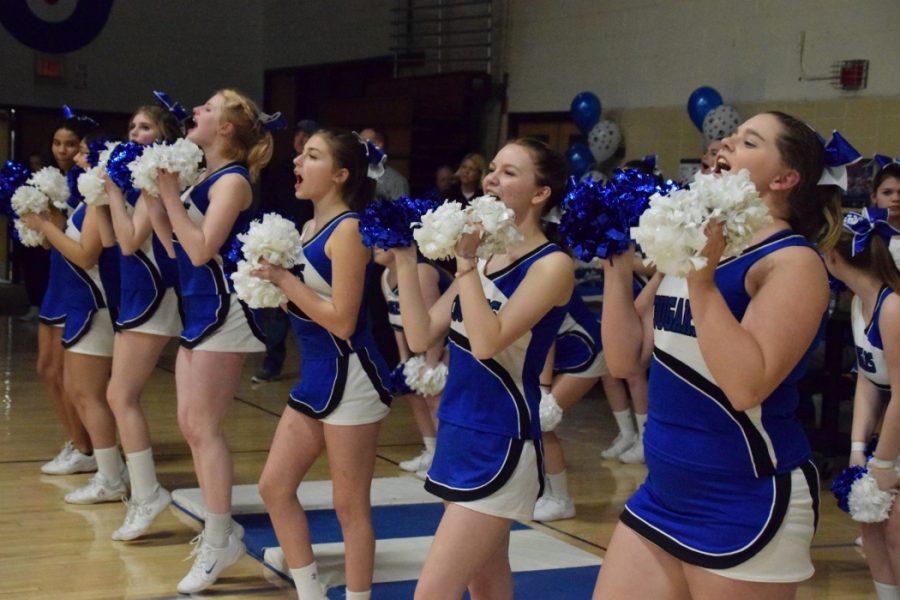 Cheer : Girls Basketball vs Middleton