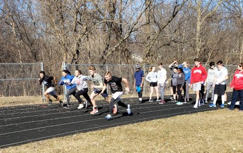 Track practice signals start to spring sports season