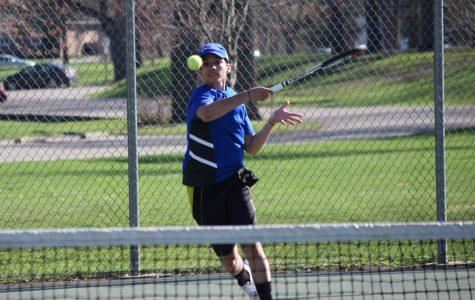 Boys tennis faces Parker