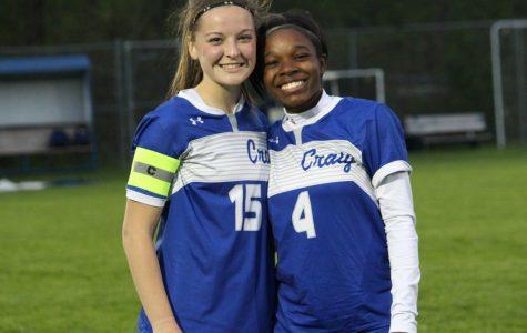Girls Soccer Senior Night vs Madison West