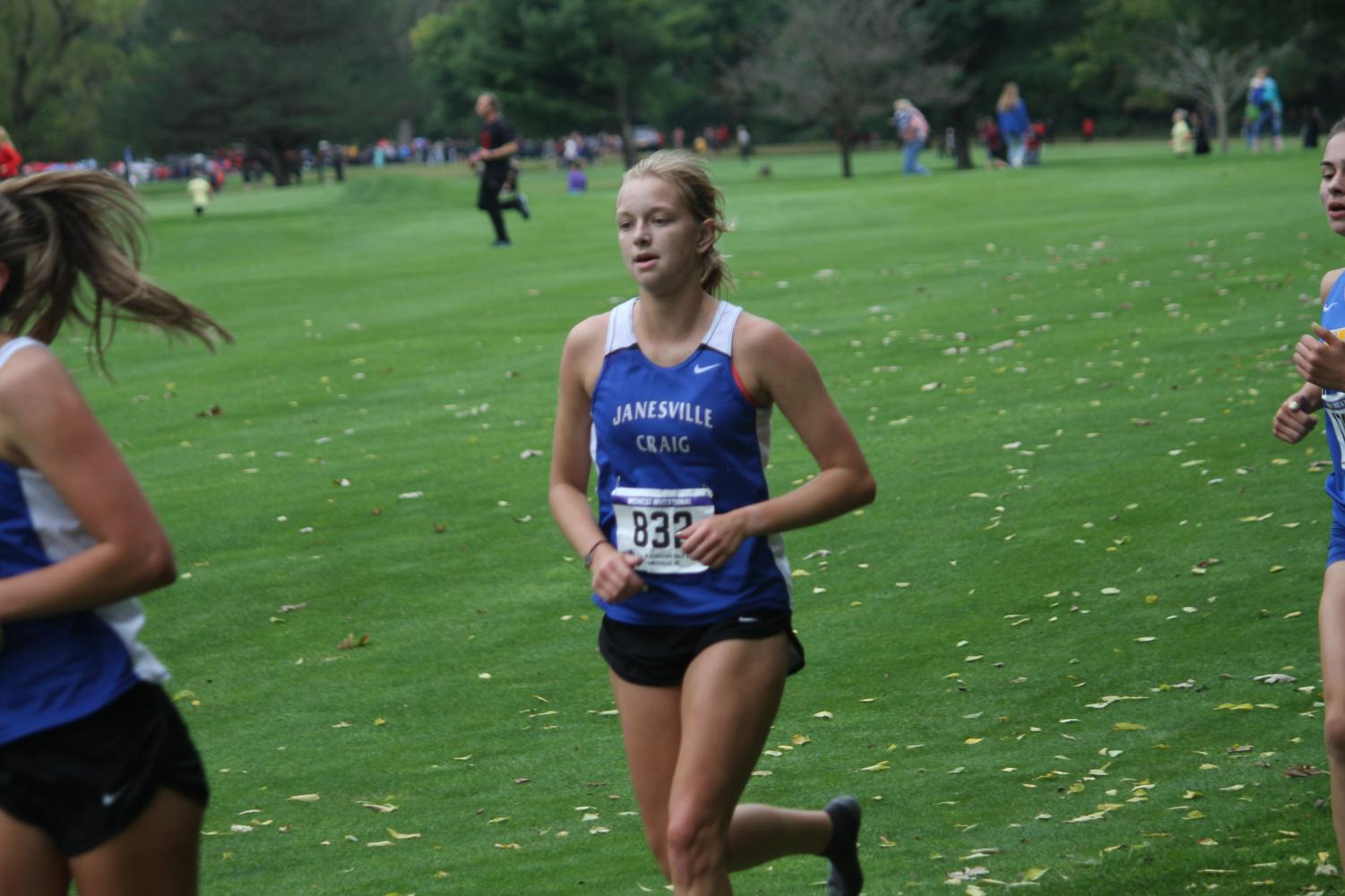 Spotlight on Seniors: Ivy White outruns the competition