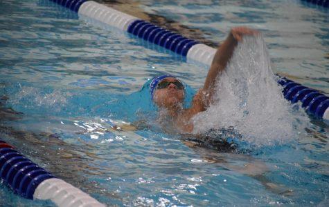 Craig Swim Wins and Loses at Triple Dual