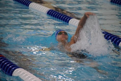 Craig Swim Wins and Loses at Triple Dual