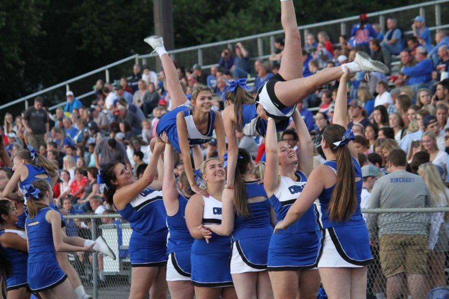 Get to know the Craig Cheerleaders