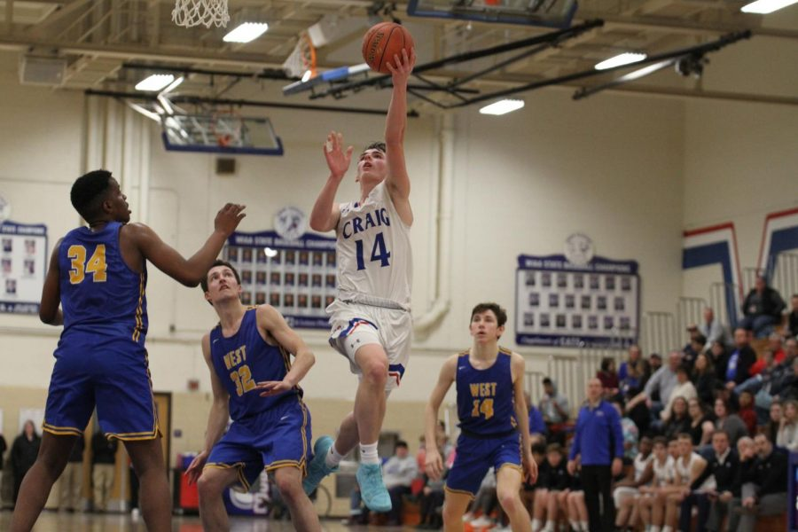 Craig Boys Basketball slips past Madison West 79-71