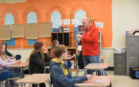 Craig High School's Mr. Holmquist Gets Crystal Apple Award Honorable Mention