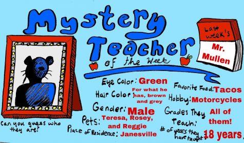 Mystery Teacher of the Week #3