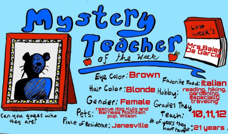 Mystery Teacher of the Week #5