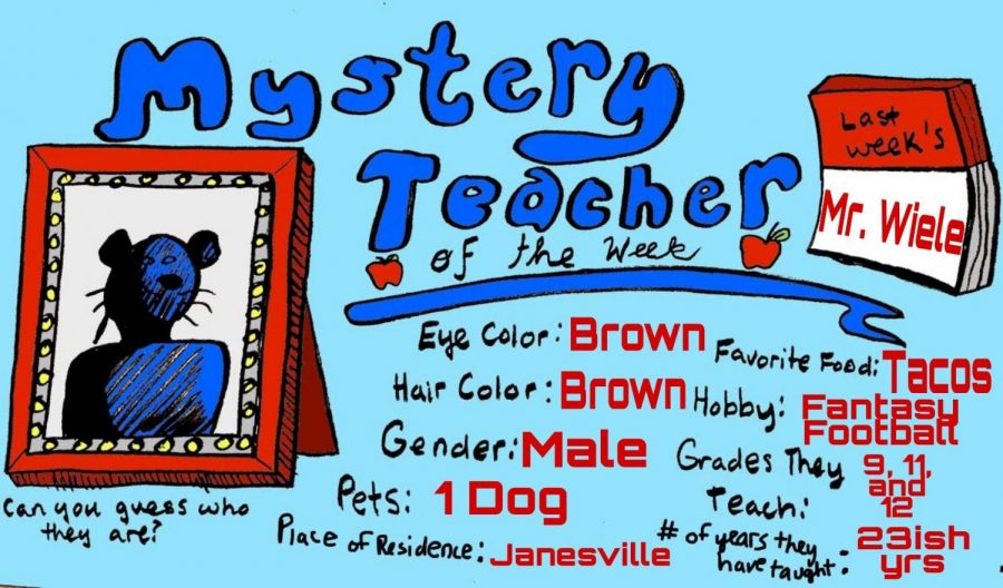 Mystery Teacher of the Week #7