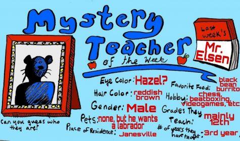 Mystery Teacher of the Week #8