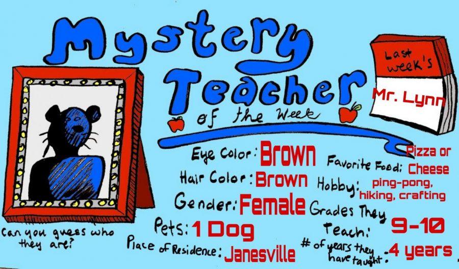 Mystery Teacher of the Week #9