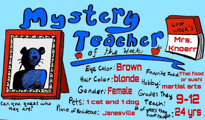 Mystery Teacher of the Week #10