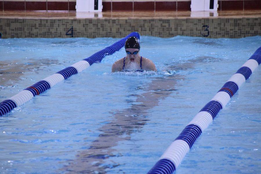 Reece 100 breaststroke 2