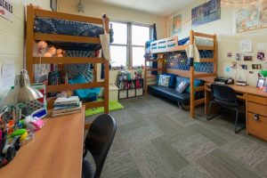 A Dorm Room at UW Wisconsin, Madison