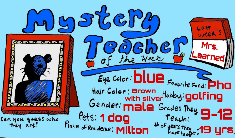 Mystery Teacher of the Week #11