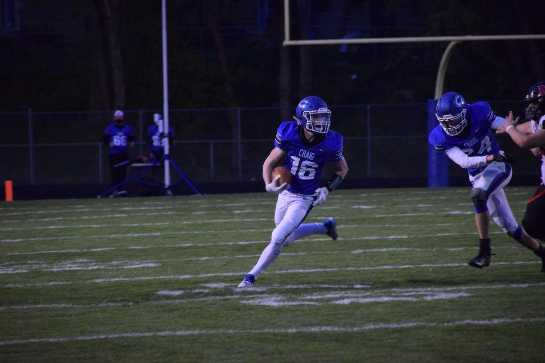 Cougars fall to Milton, 46-13